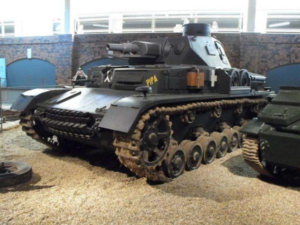 Panzer IV tank at Duxford.Photo Gregd1957 CC BY-SA 3.0