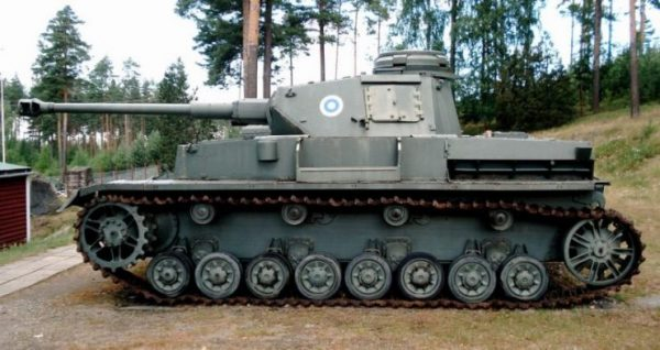 PzKpfw IV Ausf J in Finnish Tank Museum, Parola.Photo Balcer CC BY 2.5