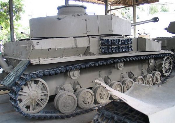 PzKpfw IV in Batey ha-Osef Museum, Israel.Photo Bukvoed CC BY 2.5