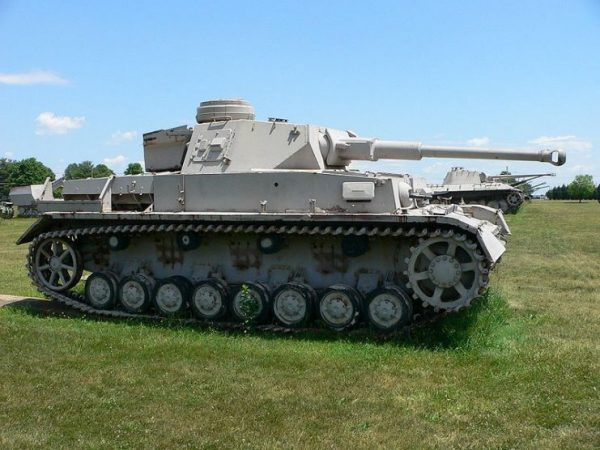 The 1942 Panzer IV Ausf. F2 was an upgrade of the Ausf. F, fitted with the KwK 40 L 43 anti-tank gun to counter Soviet T-34 medium and KV heavy tanks.Photo Mark Pellegrini CC BY-SA 2.5