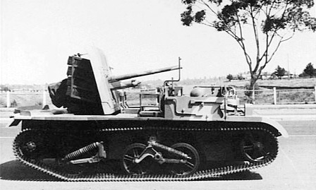 2-pounder anti-tank gun UC variant