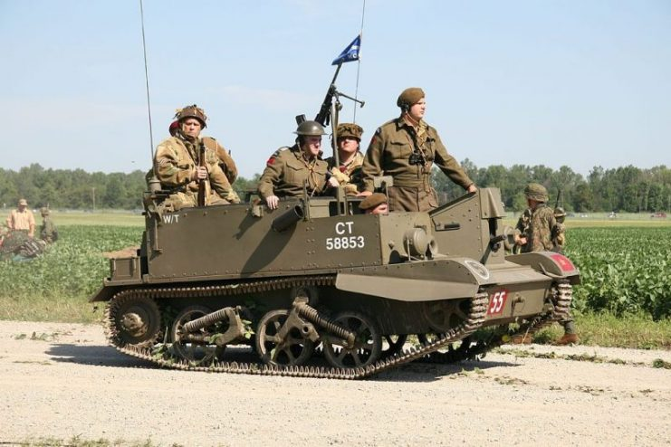 British Universal Carrier.Photo D. Miller CC BY 2.0
