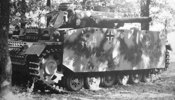 Flammpanzer III 651 of the 6.Panzer Division Kursk July 1943