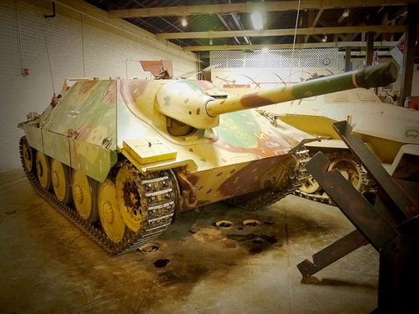 Hetzer at the Texas Military Forces Museum in Austin, Texas – Chris.w.braun CC BY-SA 3.0