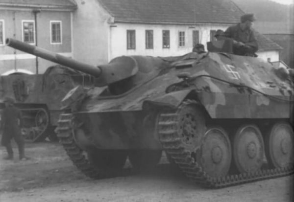 Hetzer Tank Destroyer.