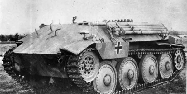 Bergepanzer 38 Recovery Vehicle