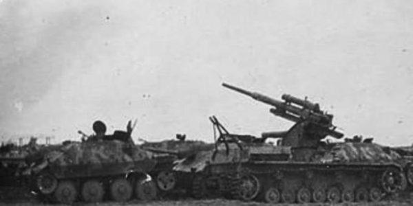 A Panzer IV Flak 88 Variant