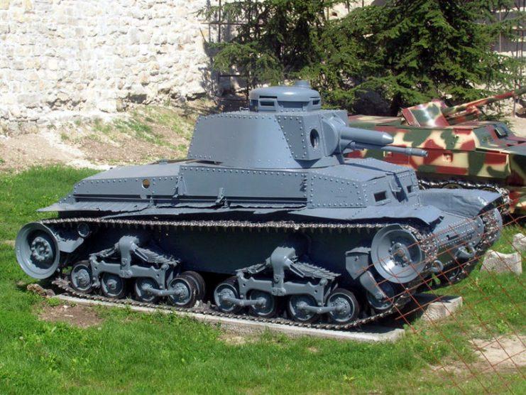 Panzer 35, Belgrade Military Museum, Serbia. Photo Marko M. CC BY-SA 3.0