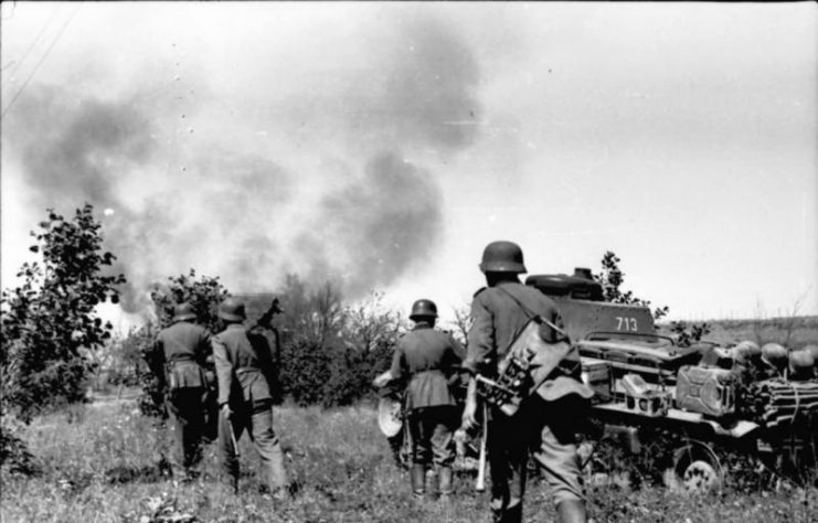 Panzer 35(t) number 713 – Eastern Front 1941