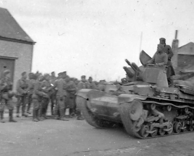 Panzer 35(t) of the 6. Panzer Division France 1940