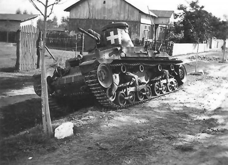 Panzer 35(t) Tank Wola Gulowska Poland 1939