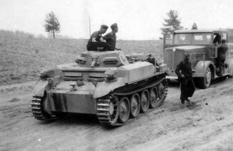 Panzer II Flamingo.