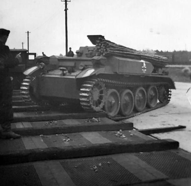 Panzer II flammpanzer