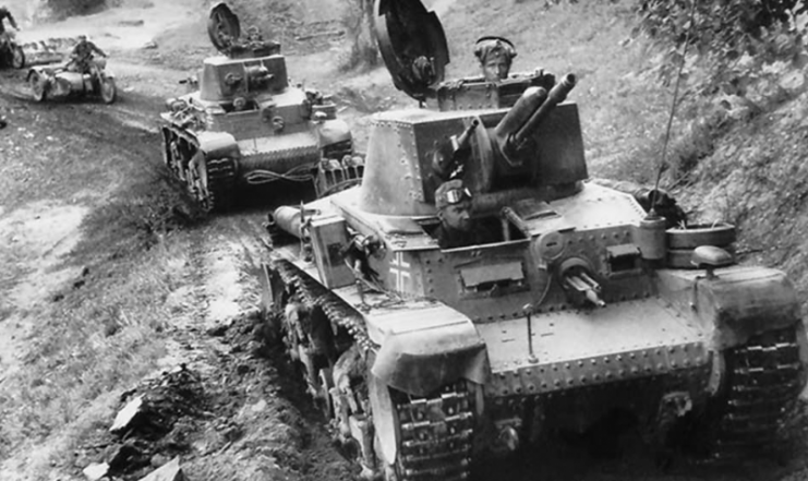 Panzers 35(t) 1940