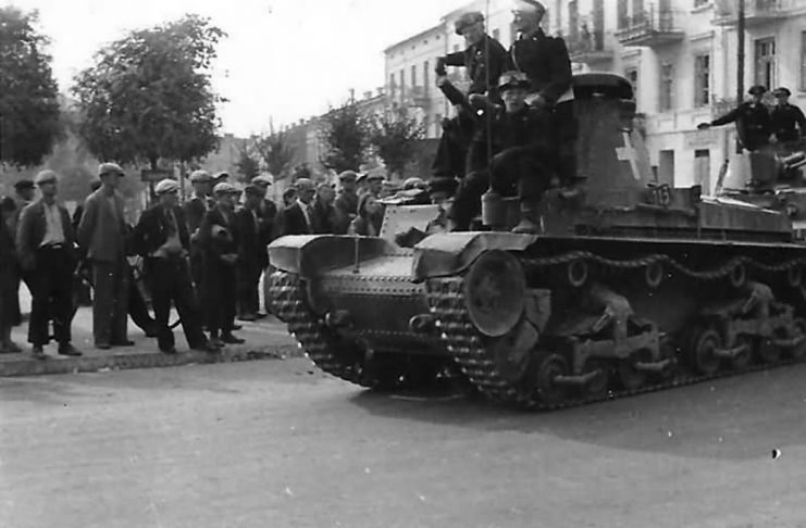 Pz.Kpfw. 35(t) tank of the of the 1. leichte Division – Poland 1939