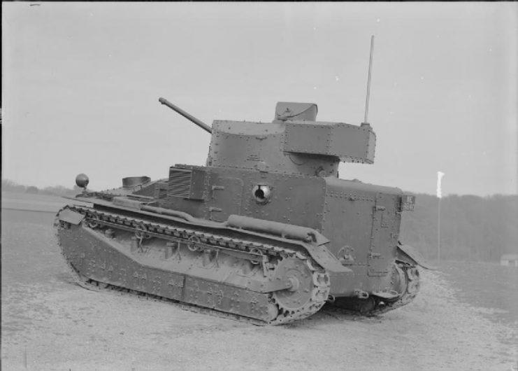 Vickers Medium Mk II tank