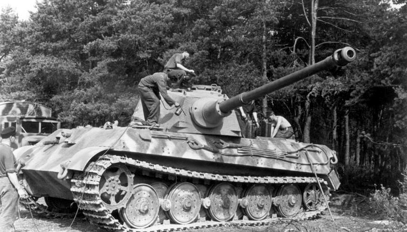 Although it was 15 tons heavier than the Tiger I, the Tiger II used the same Maybach HL 230 V12, making it severely underpowered.