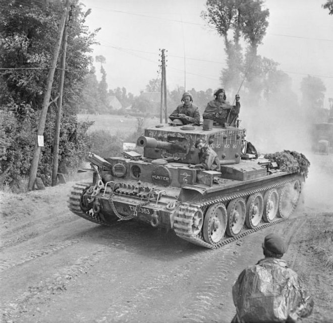 Centaur IV of Royal Marine Armoured Support Group, Normandy 13 June 1944