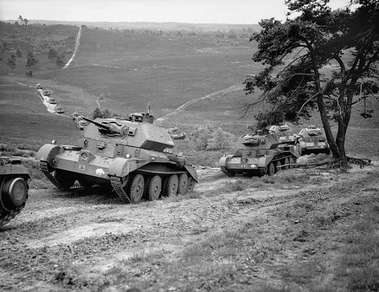 Cruiser Mk IV tanks