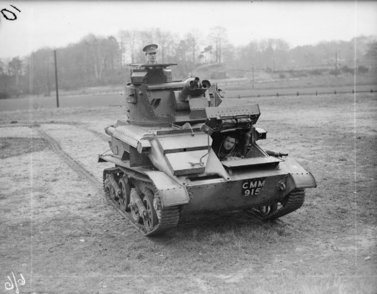 Light Tank Mk.VIA of the 3rd King's Own Hussars.