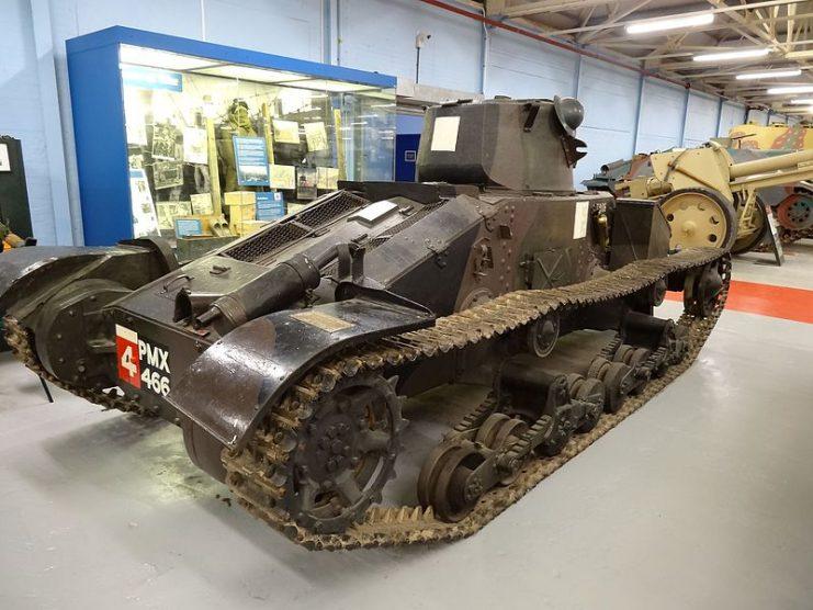Matilda I tanks in the Bovington Tank Museum.Photo Jonathan Cardy CC BY-SA 3.0