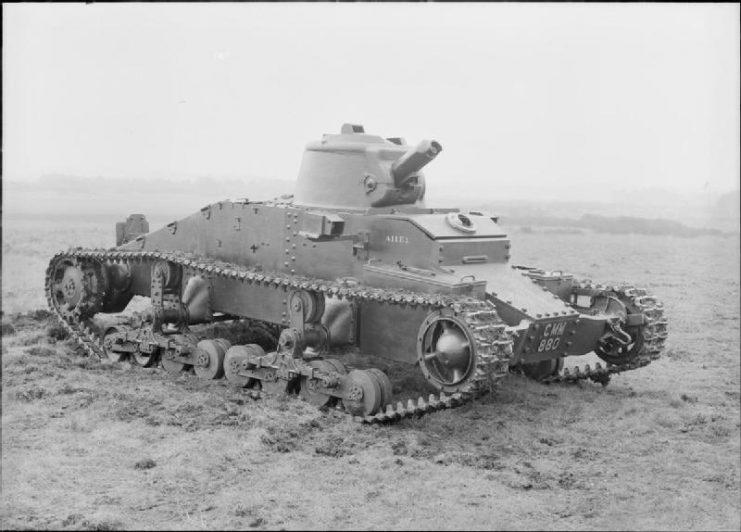 Tank, Infantry, Mk I, Matilda I (A11)
