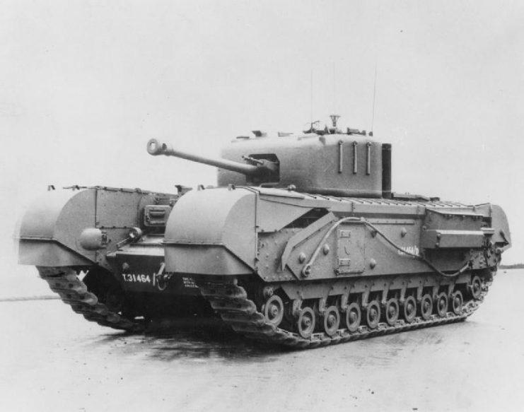 Tank, Infantry, Mk IV (A22)