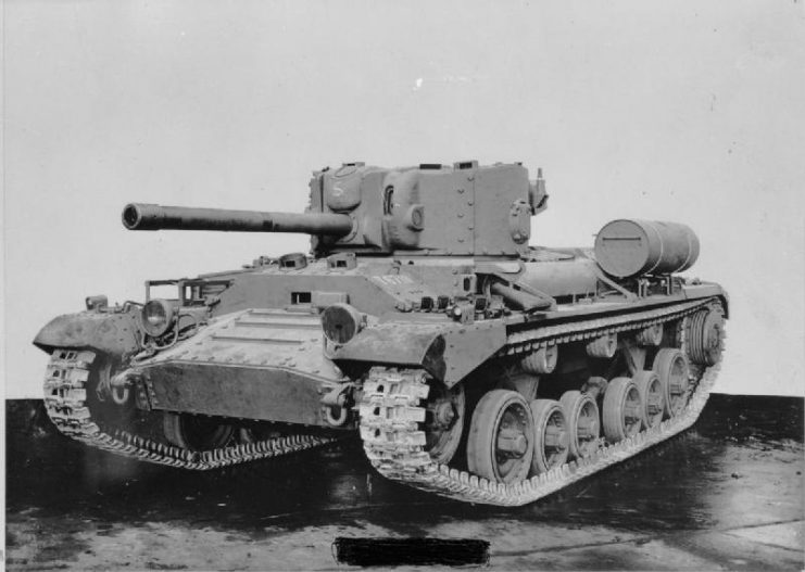 The Valentine IX. This was armed with the QF 6-Pounder gun with many of these being sent to Russia under Lend Lease