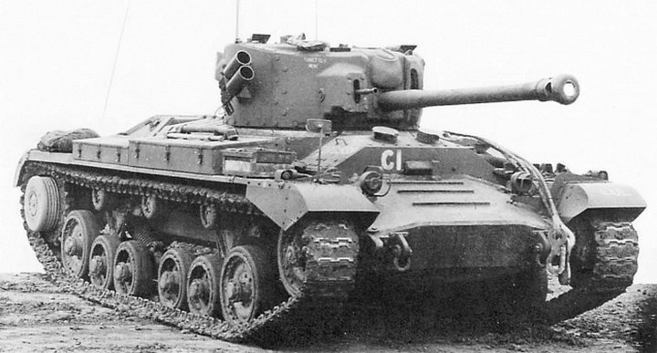 The Valentine XI. Armed with the 75 mm gun